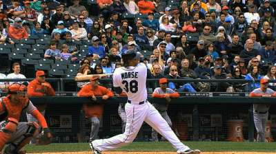 Giants agree to one-year deal with outfielder Morse