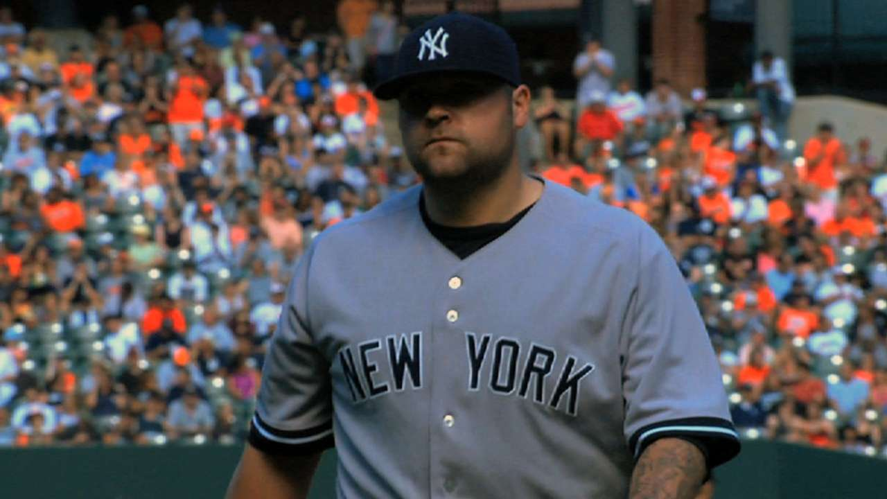 Joba focuses on command in Tigers debut
