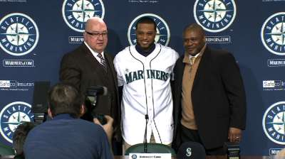 Elated Cano feels at home in Seattle