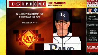 Maddon set to kick off eighth annual Thanksmas