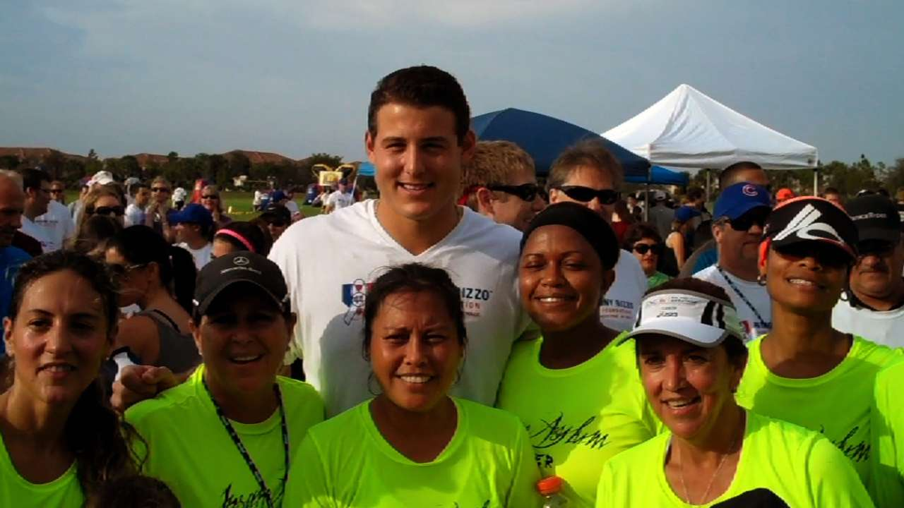 Rizzo hosts second 'Walk Off for Cancer'
