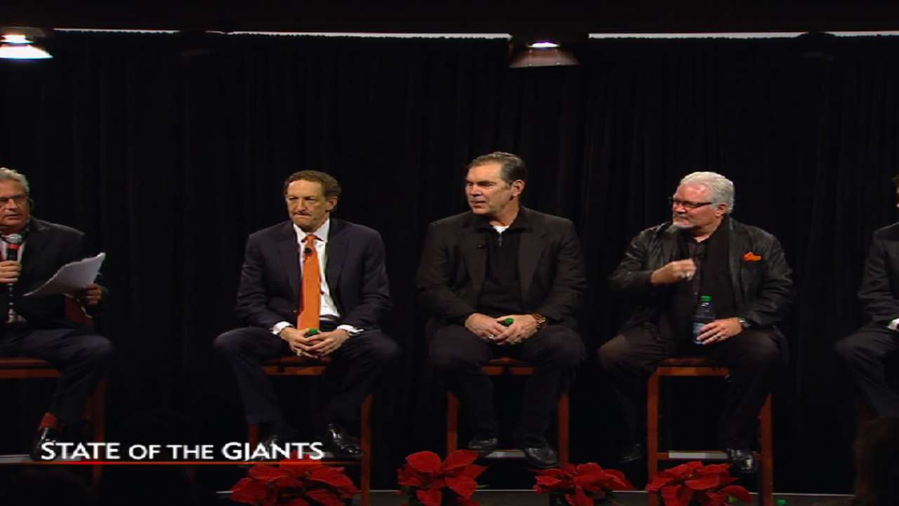 Giants' Bochy to be honored at scouts dinner