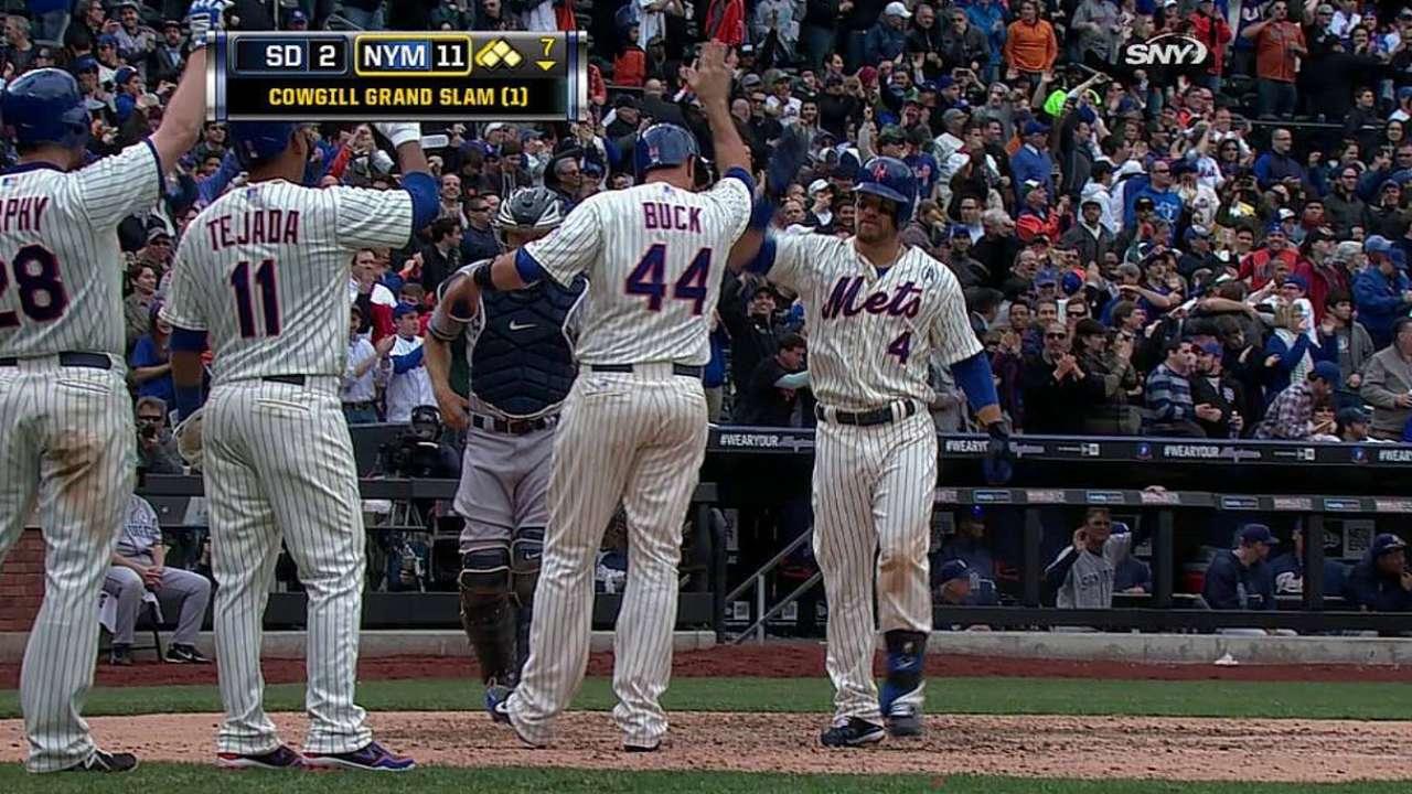 Mets arrancan con paliza sobre Padres en casa