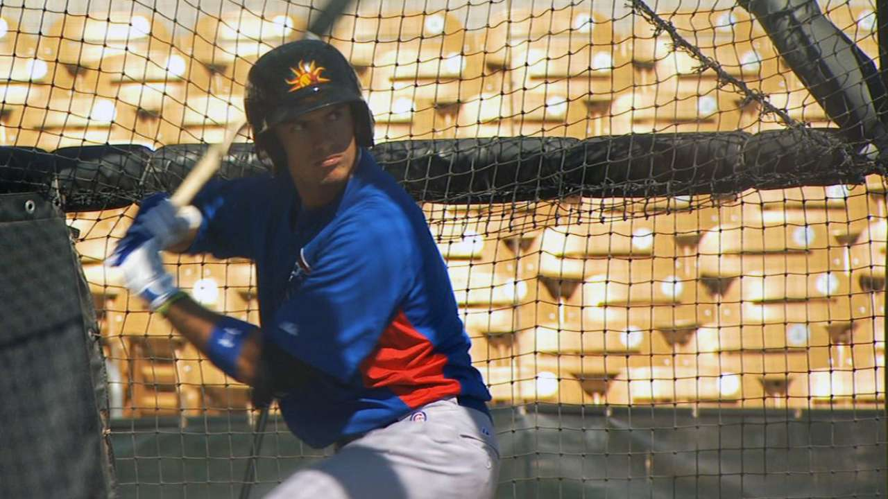 Cubs school top prospects with taste of Chicago