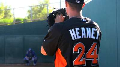 Heaney poised to give Marlins lethal top of rotation