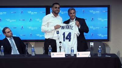 Infante on board to help Royals take next step