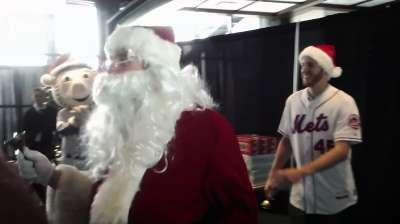 Wheeler set for first Christmas as a big leaguer