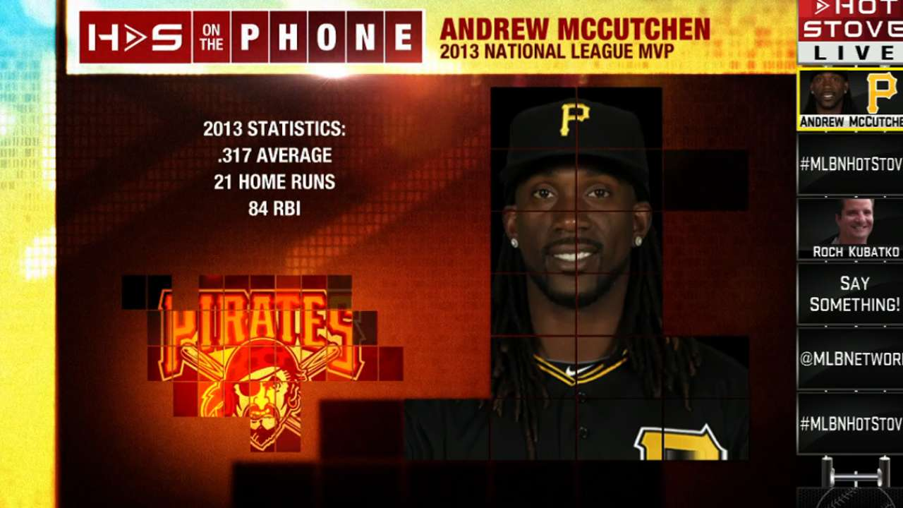 Surprise McCutchen sighting at Pirate City