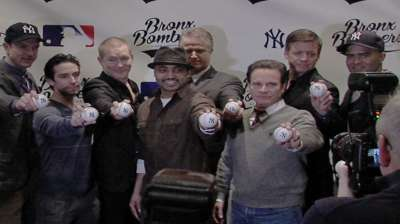 'Bronx Bombers' tells Yankees' tale on Broadway