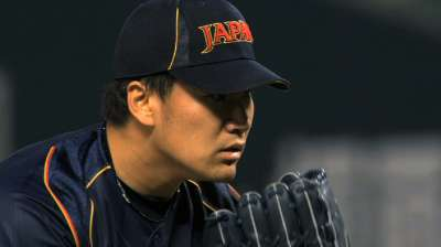 Tanaka's Major League fate in hands of Japanese club