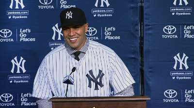 Yankees fan growing up, Beltran dons pinstripes