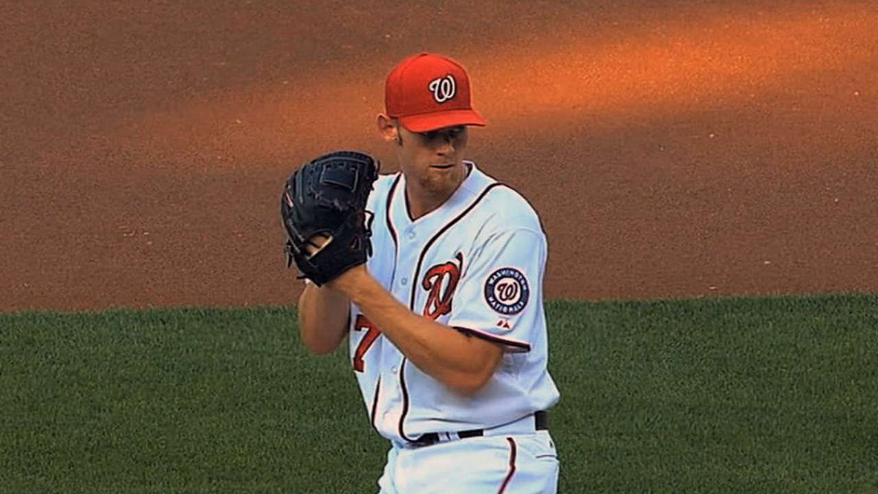 Nats, Strasburg avoid arbitration with one-year deal