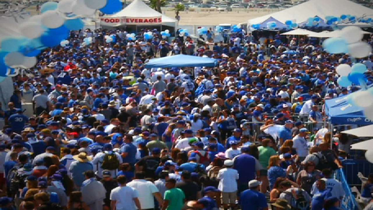 Dodgers fans grabbing tickets at 'unprecedented' rate