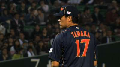 Yankees among first clubs to contact Tanaka