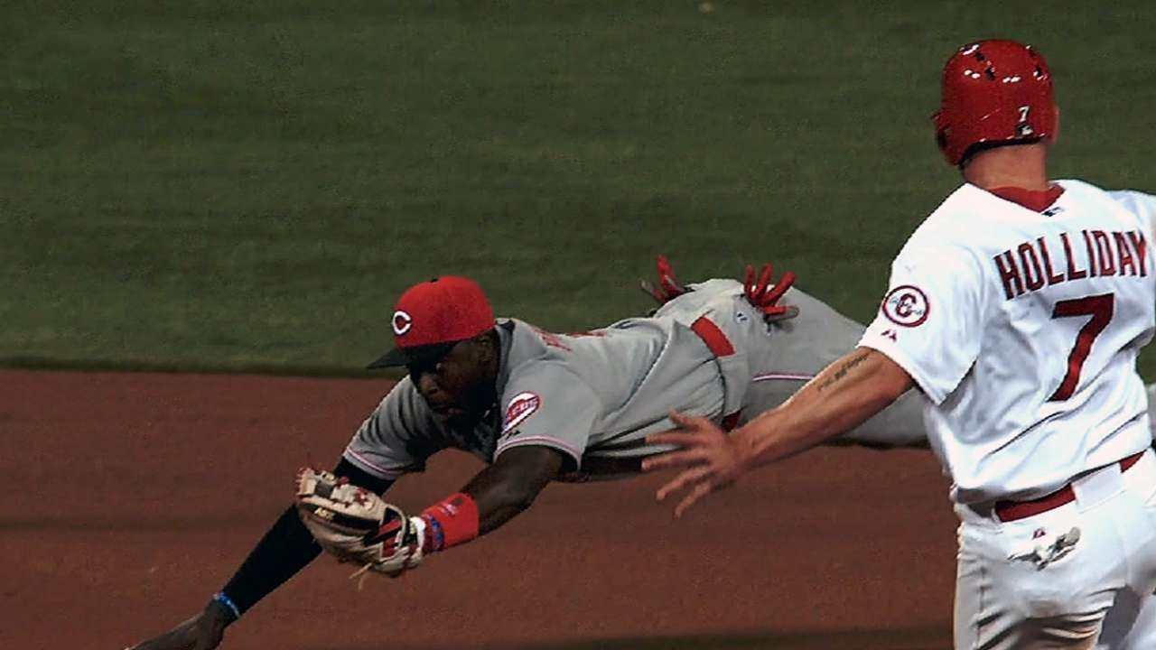 Votto, Phillips lead way at positions in NL ASG vote