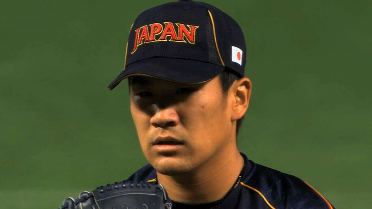 D-backs prepare for serious run at Tanaka