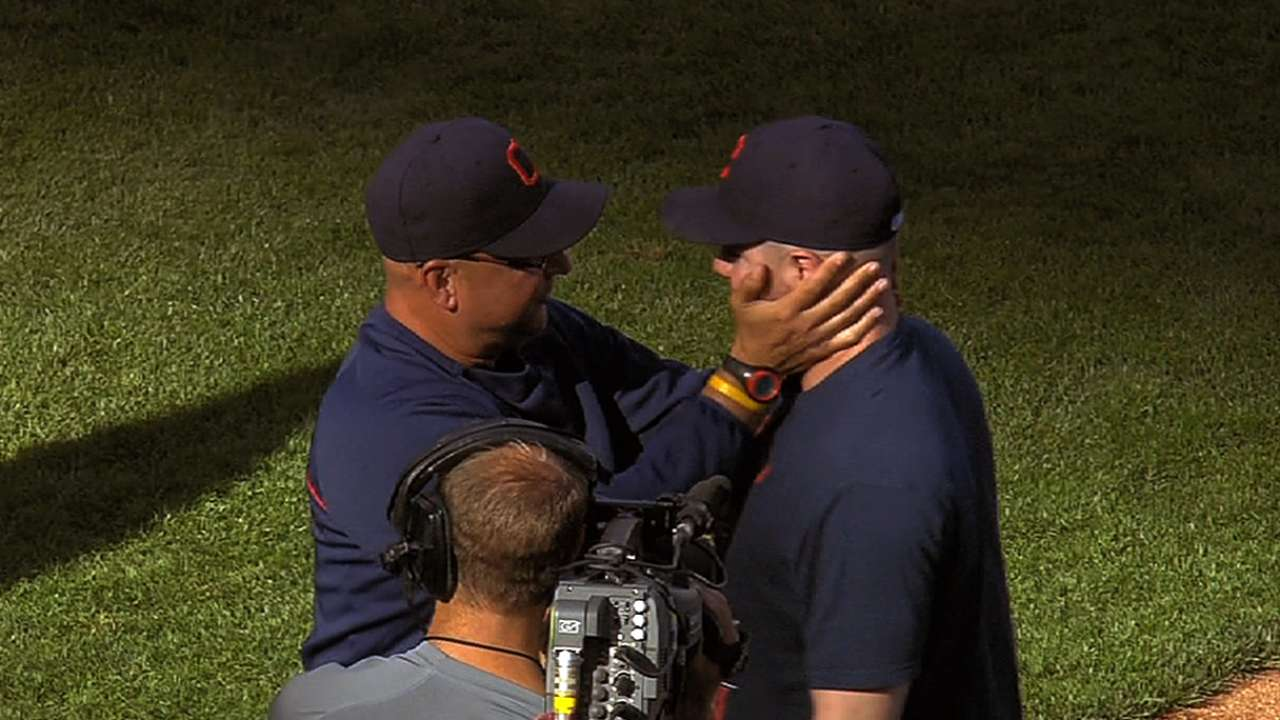 Francona eyeing in-house candidates to fill rotation