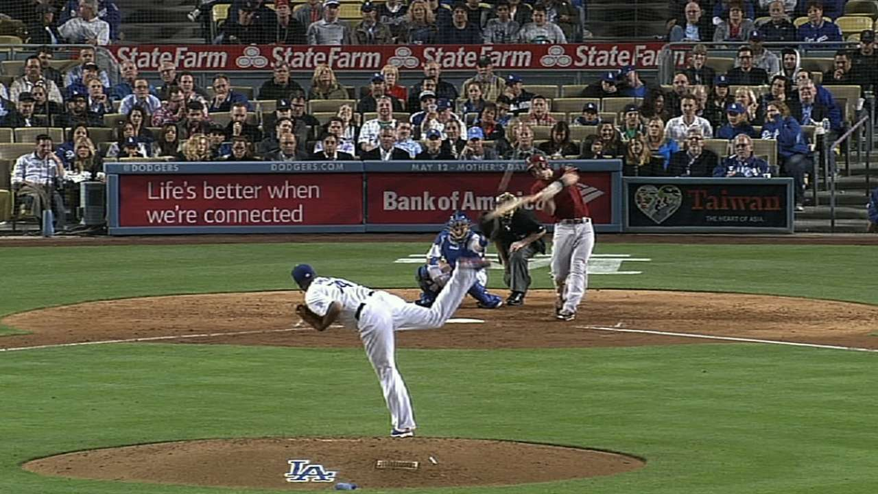 Goldy tags two more homers for D-backs sweep