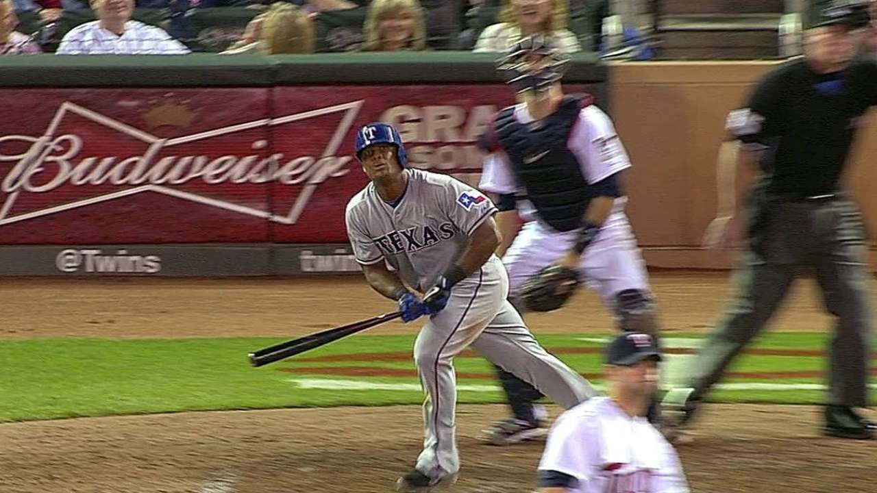 Beltre deflects attention after latest milestone
