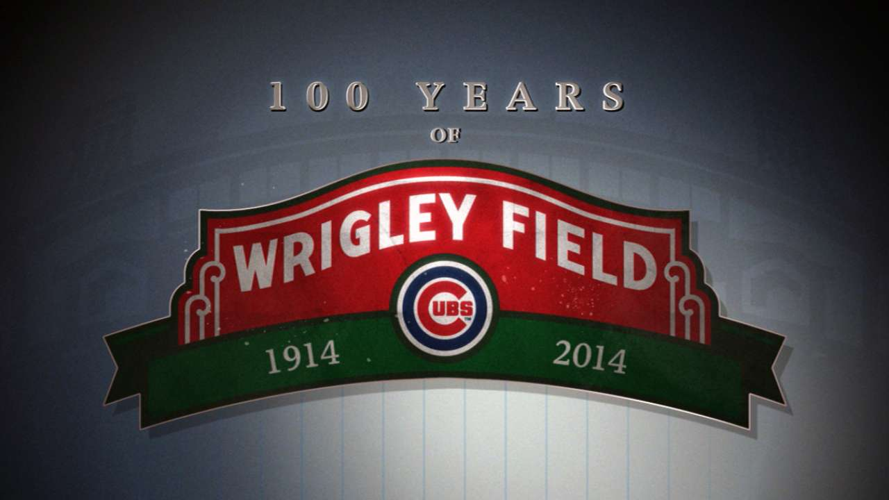 Festivities lined up for Wrigley's centennial bash
