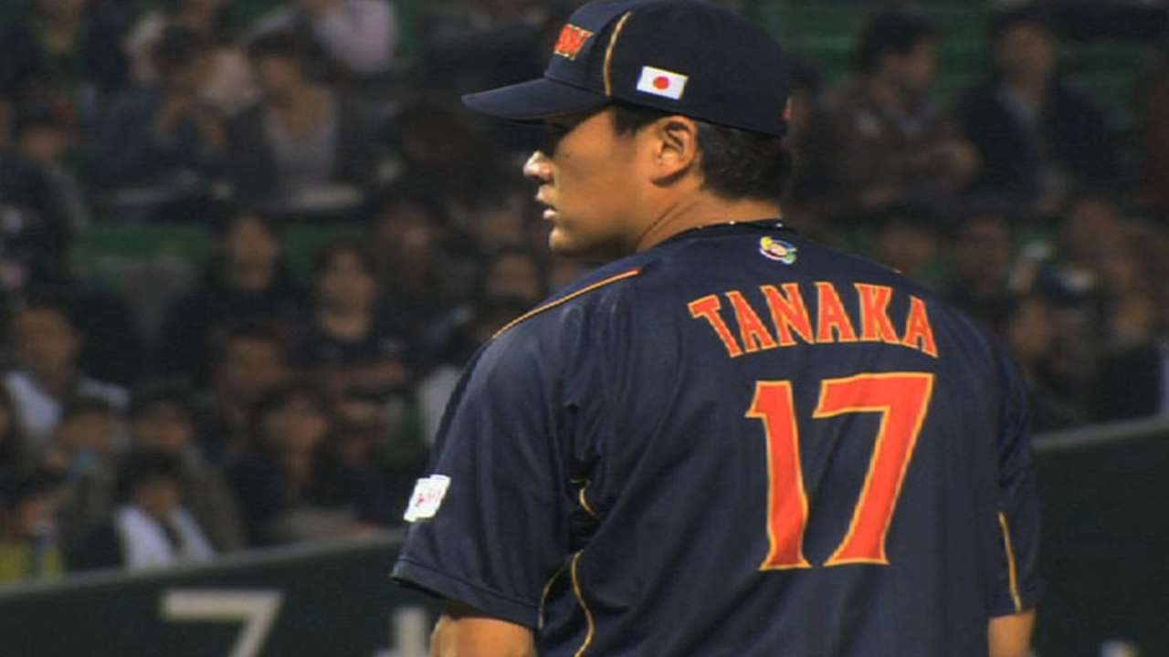 Tanaka arrives in USA to meet with interested clubs