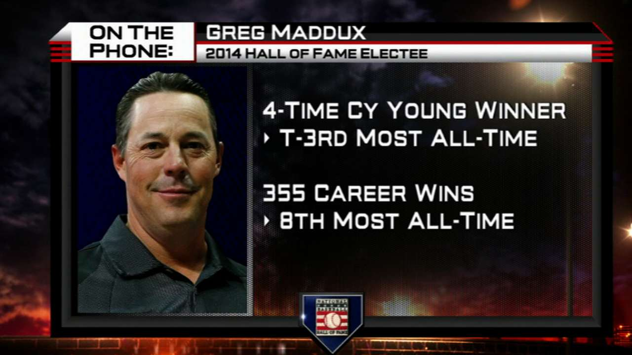 Maddux sails into Hall with overwhelming support