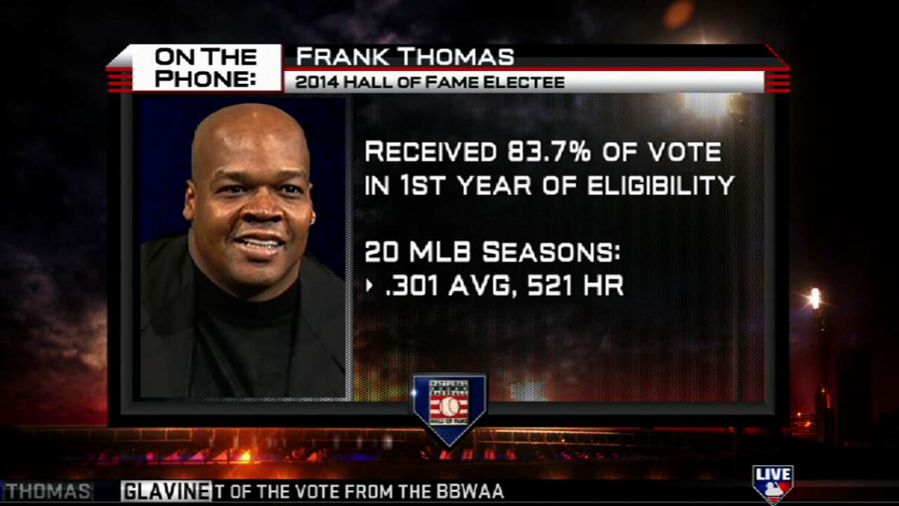 Former Blue Jays DH Thomas makes Hall of Fame