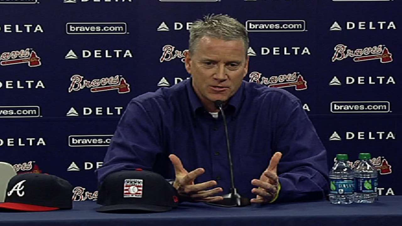 Glavine reflects on journey that led to Hall call