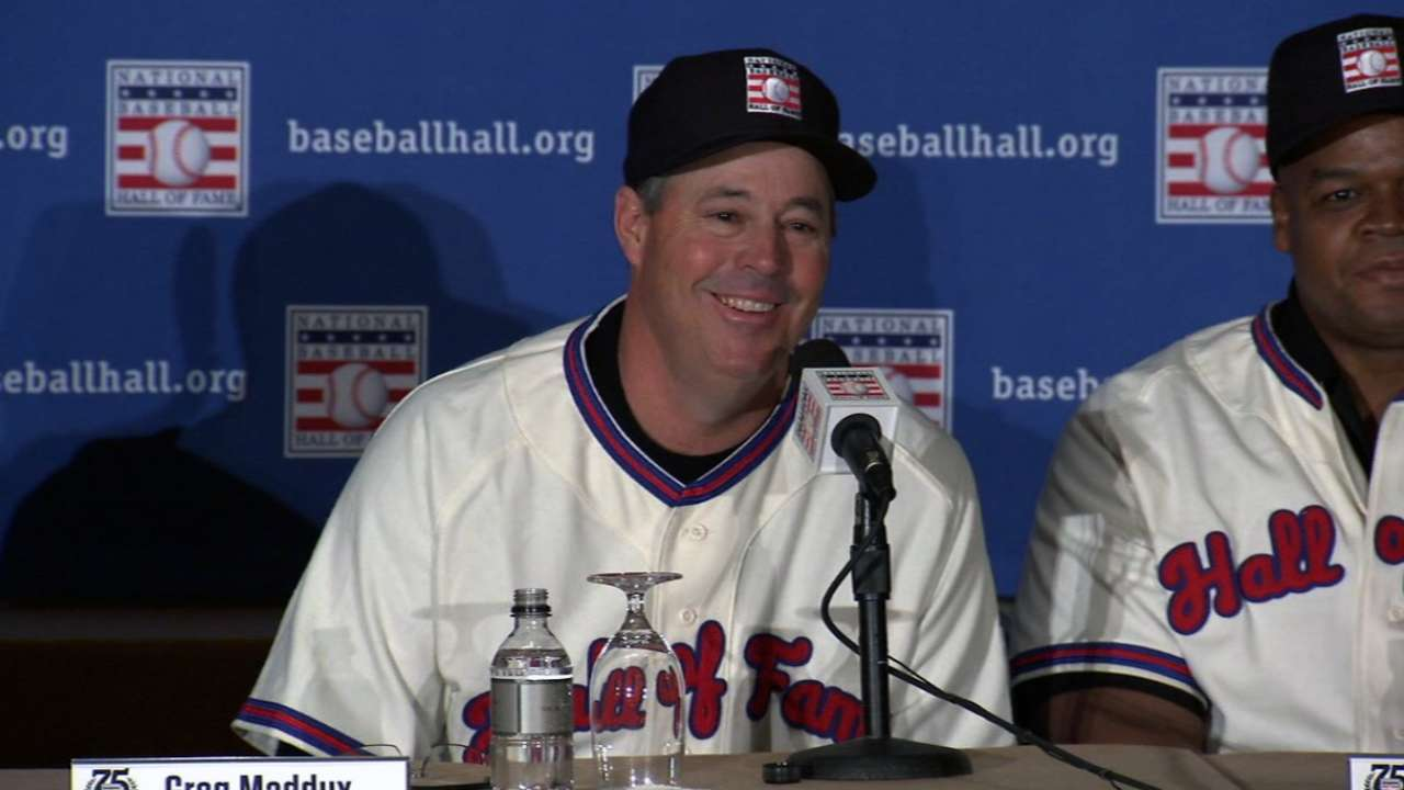 Maddux's guile, precision led to Hall of Fame