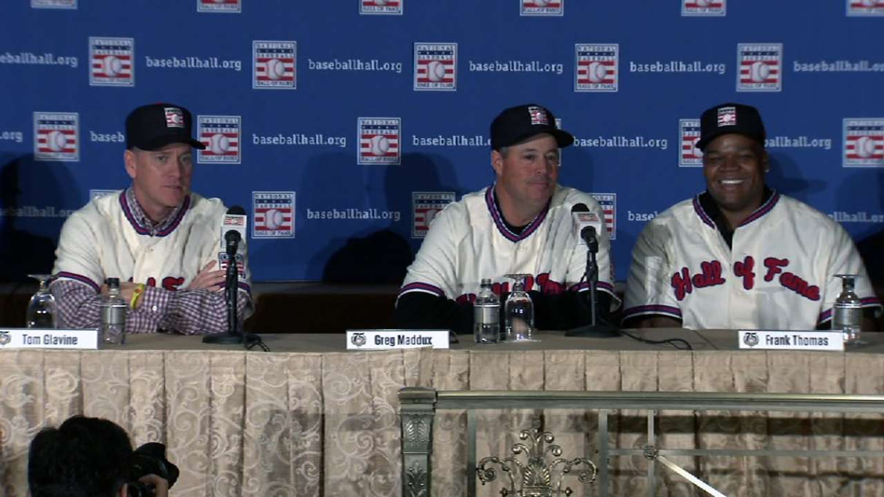 Maddux, La Russa won't have logos on Hall caps
