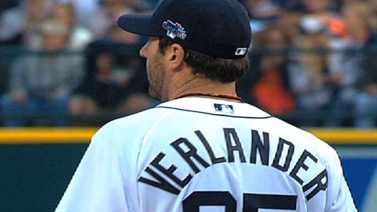 Dombrowski trusts Verlander on track for '14