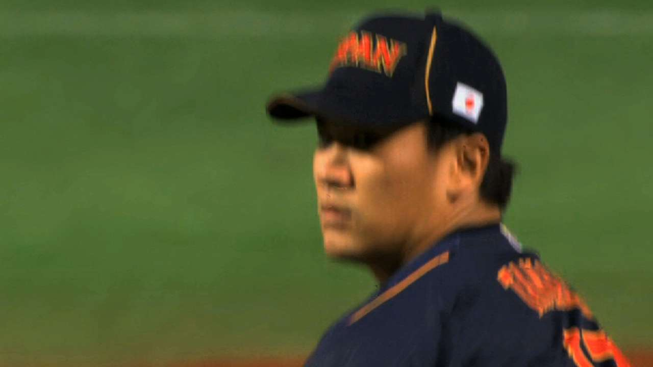 D-backs have 'plan of attack' for recruiting Tanaka