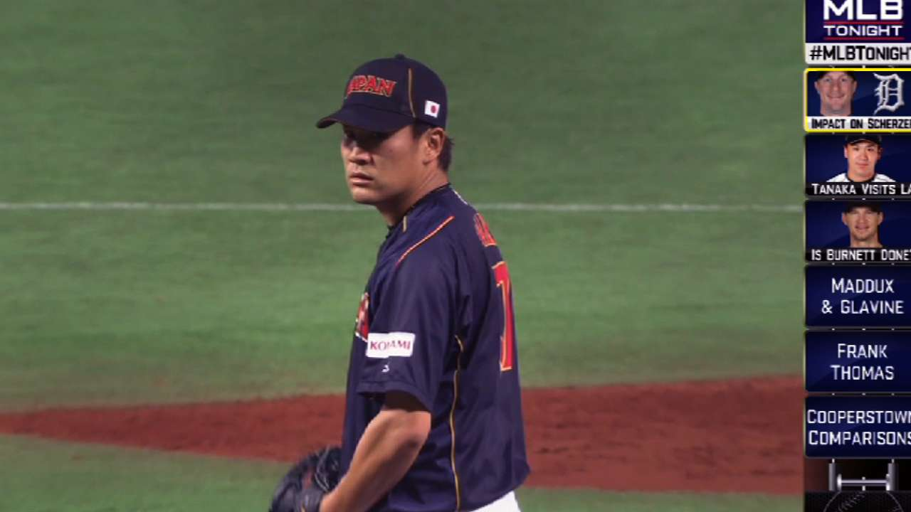 Market for Tanaka is justifiably wide open