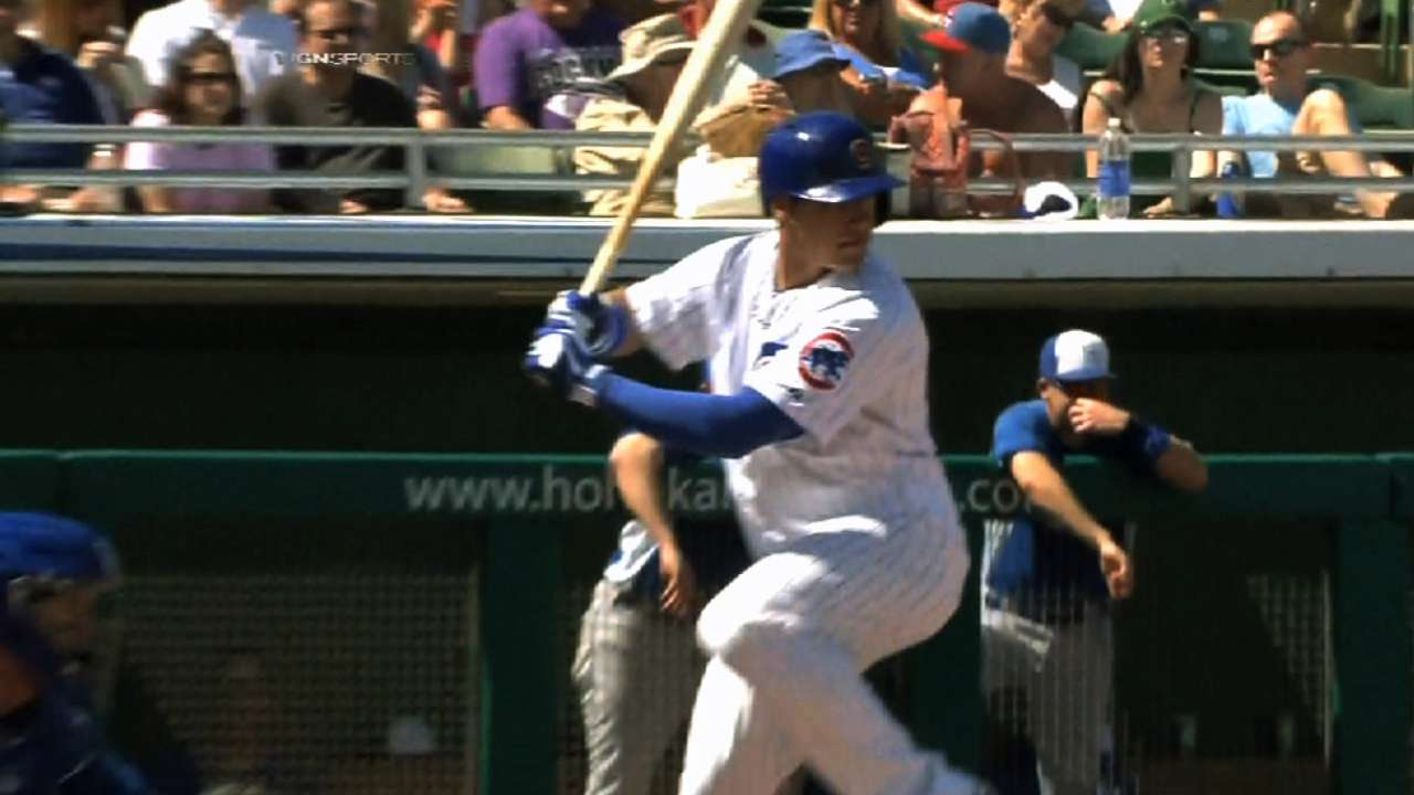 Top prospect Baez delivering after tough April