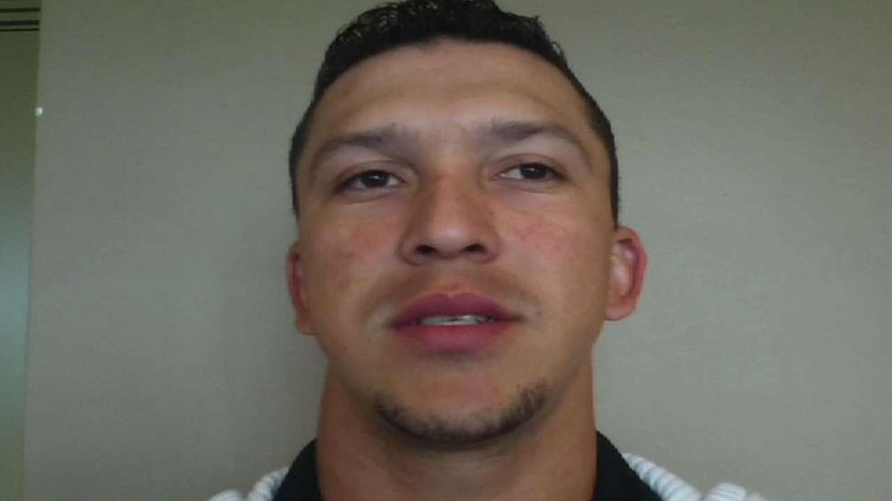 Hernán Pérez a luchar por un puesto en los Tigres