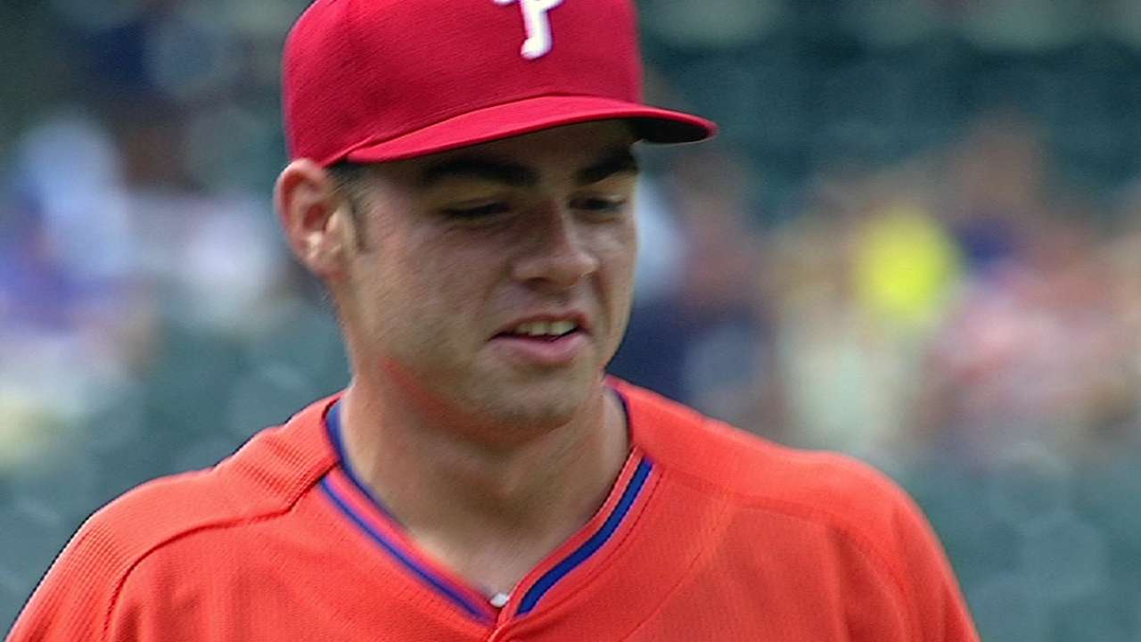 Biddle throws five no-hit innings for Clearwater