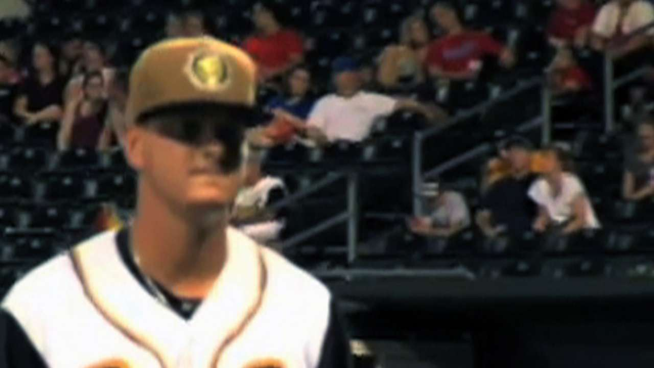 Prospect Nicolino goes distance for first time