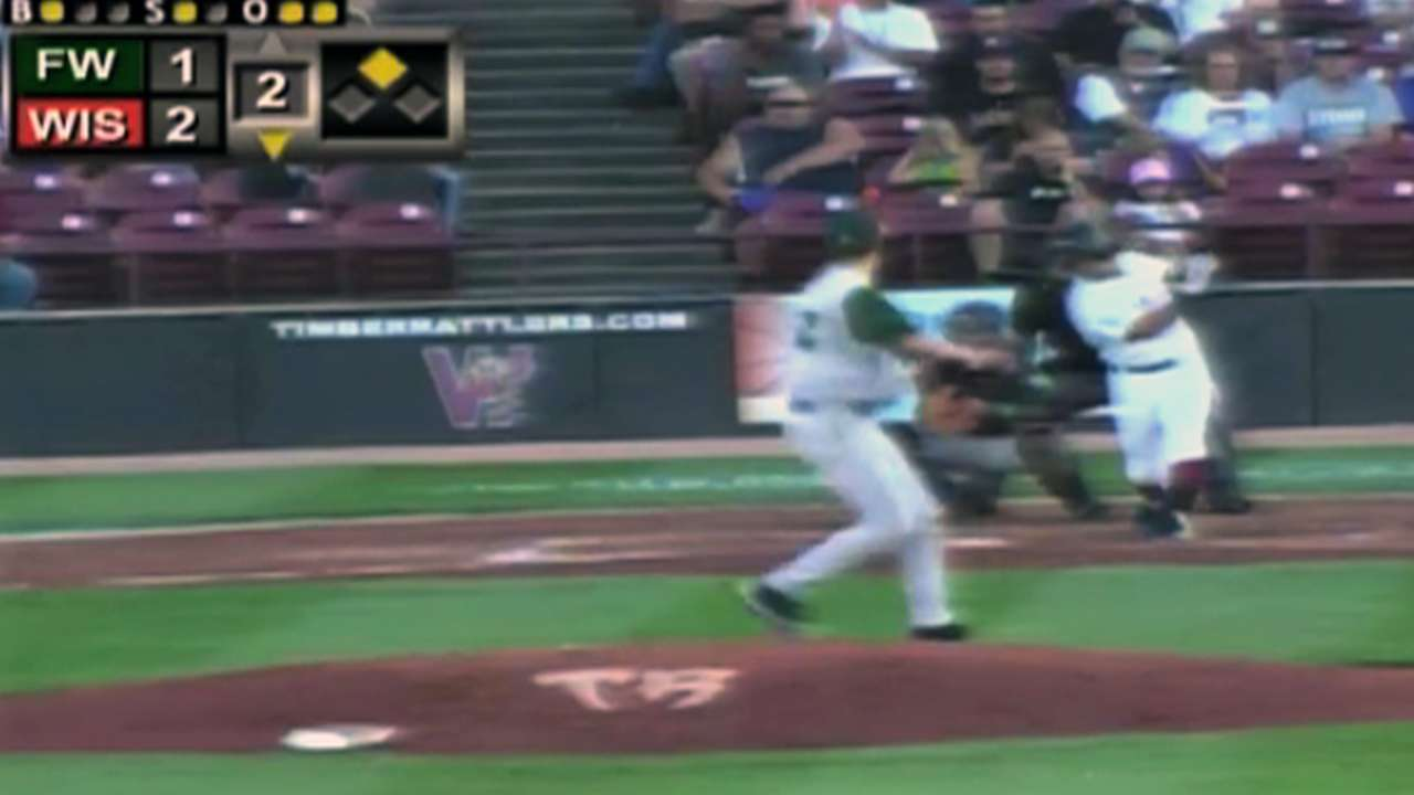 Padres prospect Fried makes season debut