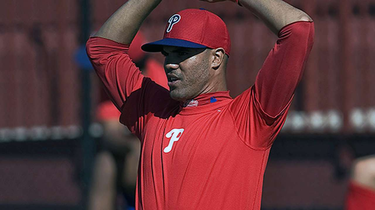 Three Phils nearing extended spring games
