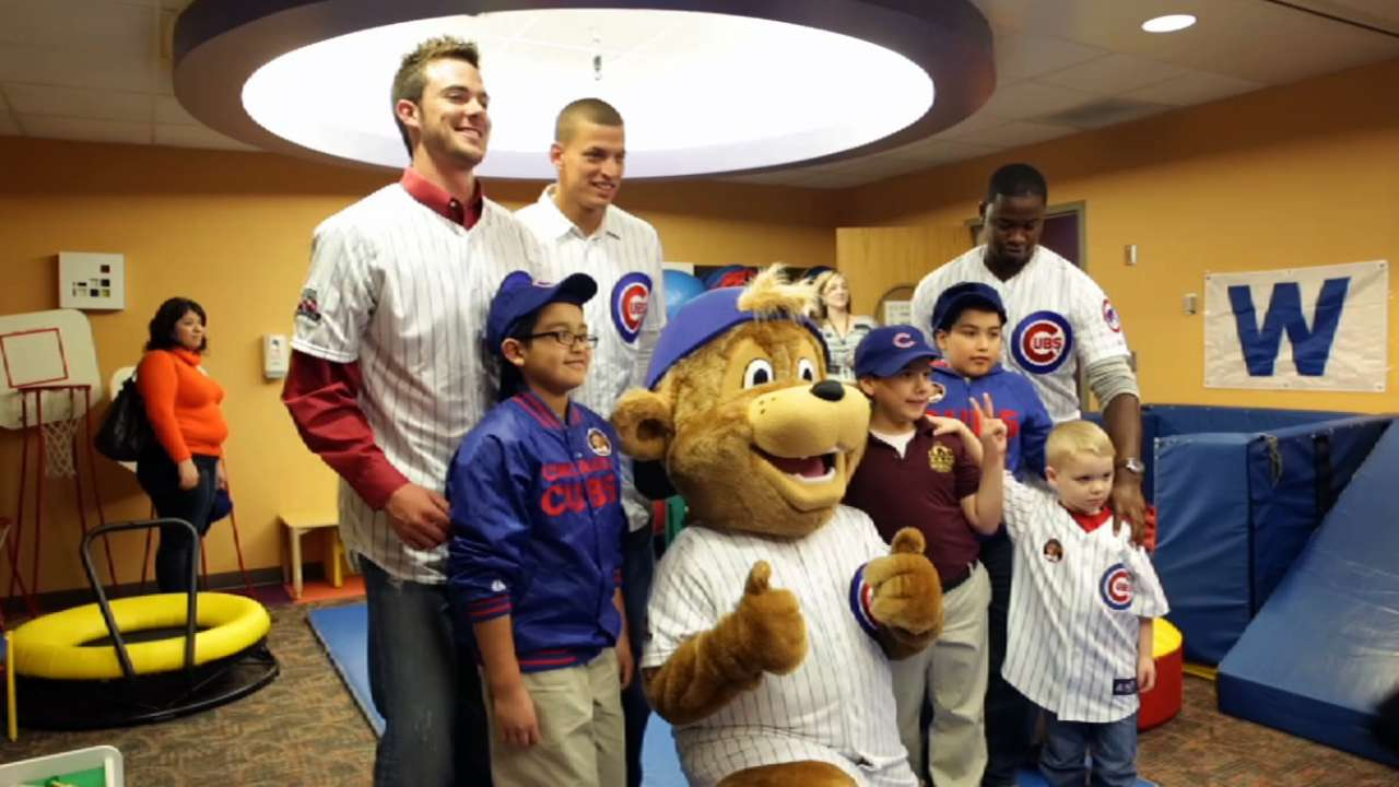 Unbearably cute! Cubs unveil new mascot