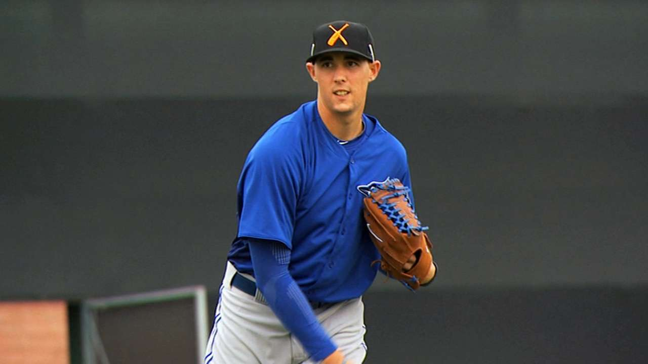 Sanchez named Blue Jays' top prospect