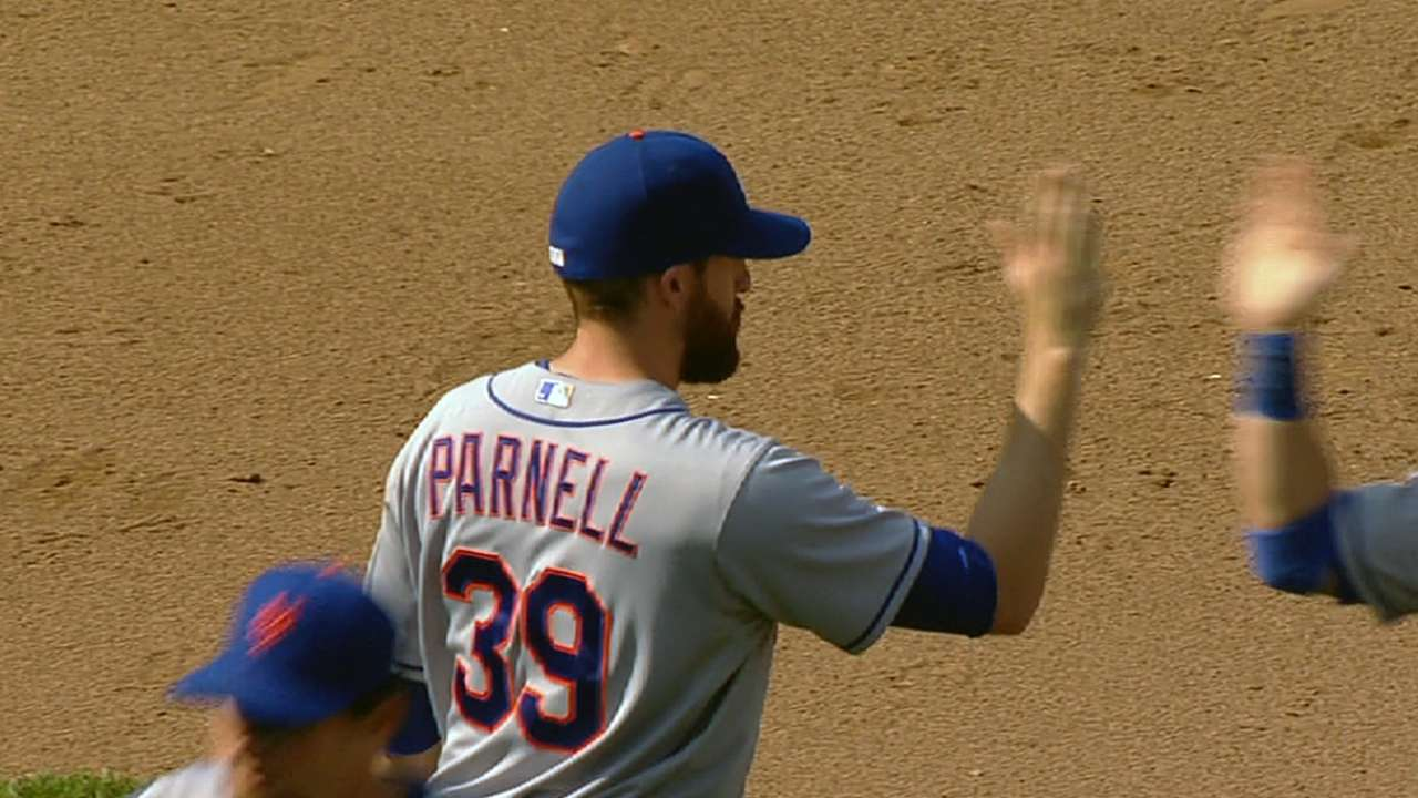 Setting minds at ease, Parnell conveys optimism