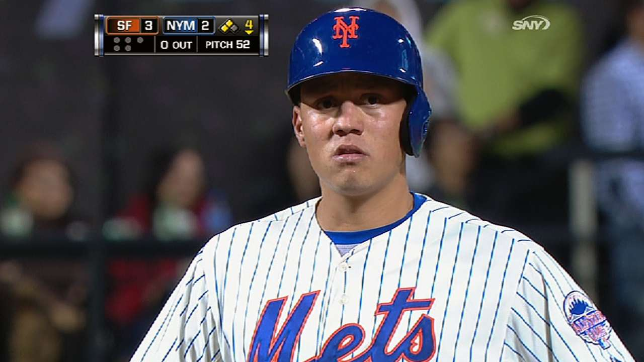 Mets set to promote Flores from Triple-A