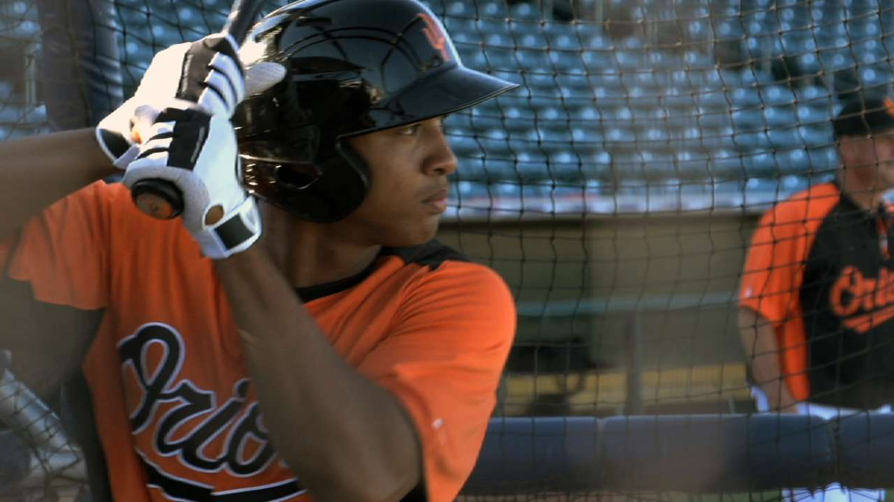 Schoop among four named to O's 25-man roster