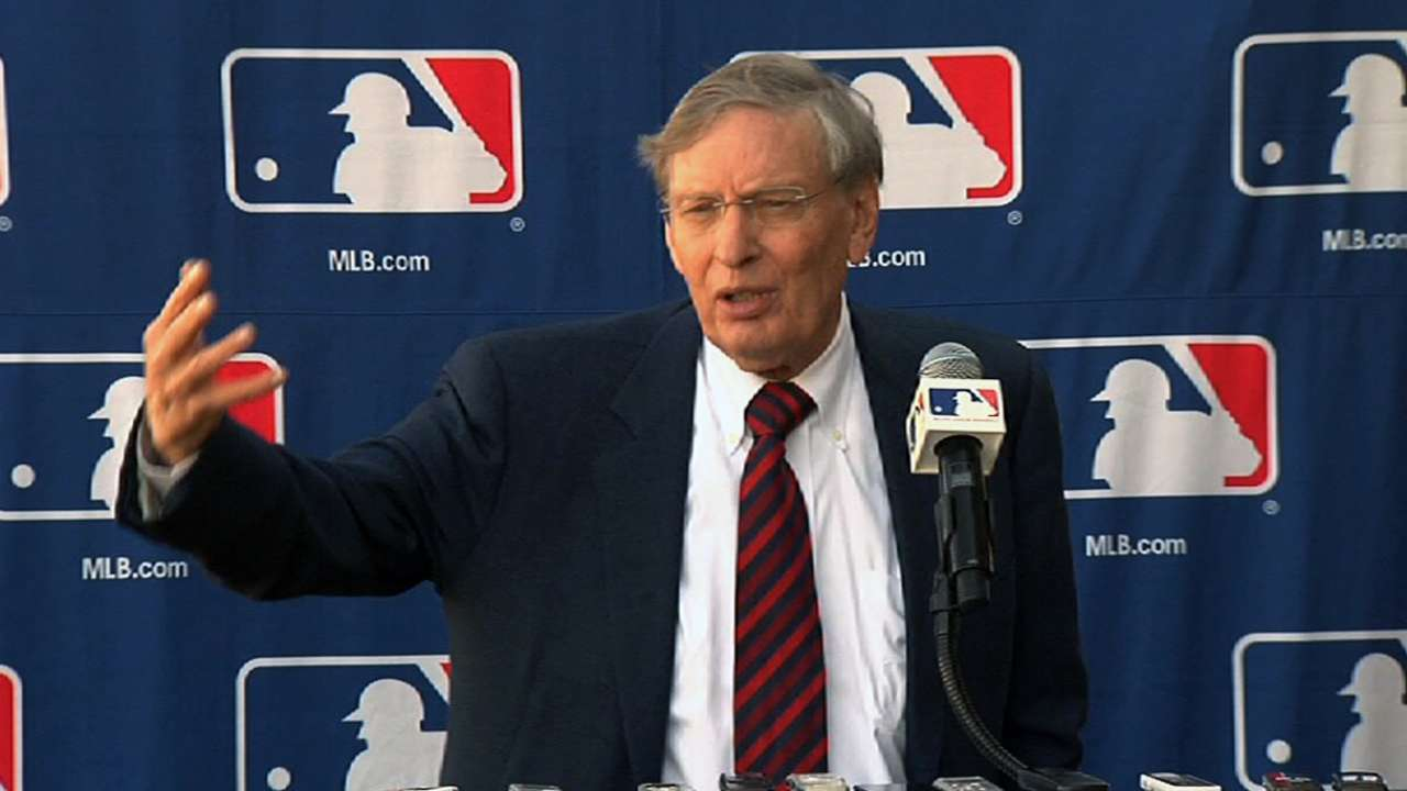 Big day for replay just start of Selig's last year