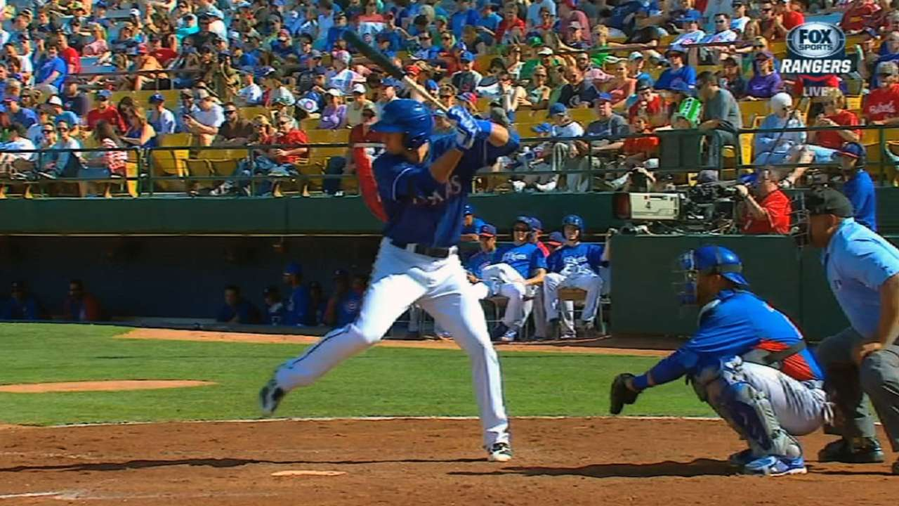 Slugger Gallo leads Rangers' updated Top 20 list