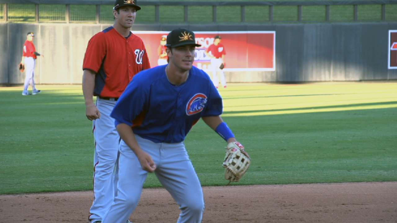 Rising Cubs prospect Bryant hits 15th homer
