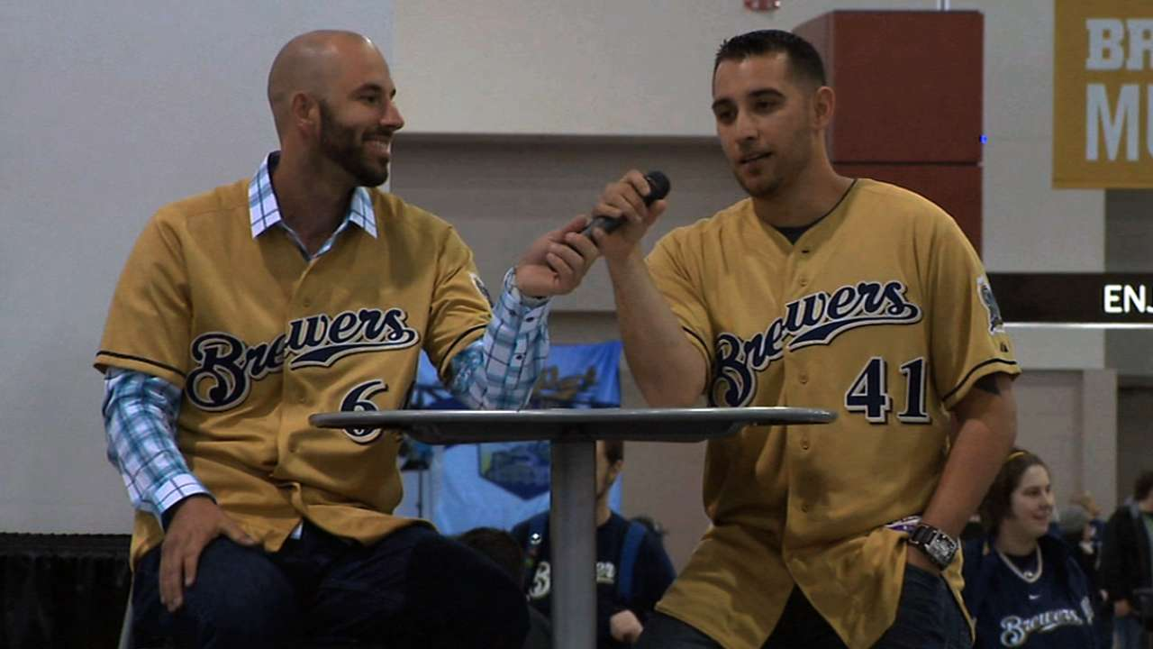 Braun to attend 'Brewers On Deck' fanfest