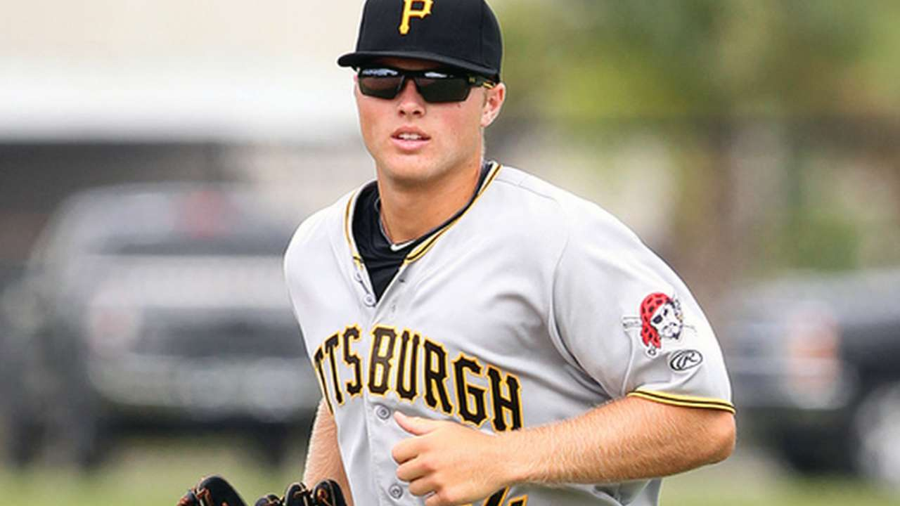 Meadows hits first homer off fellow touted prospect