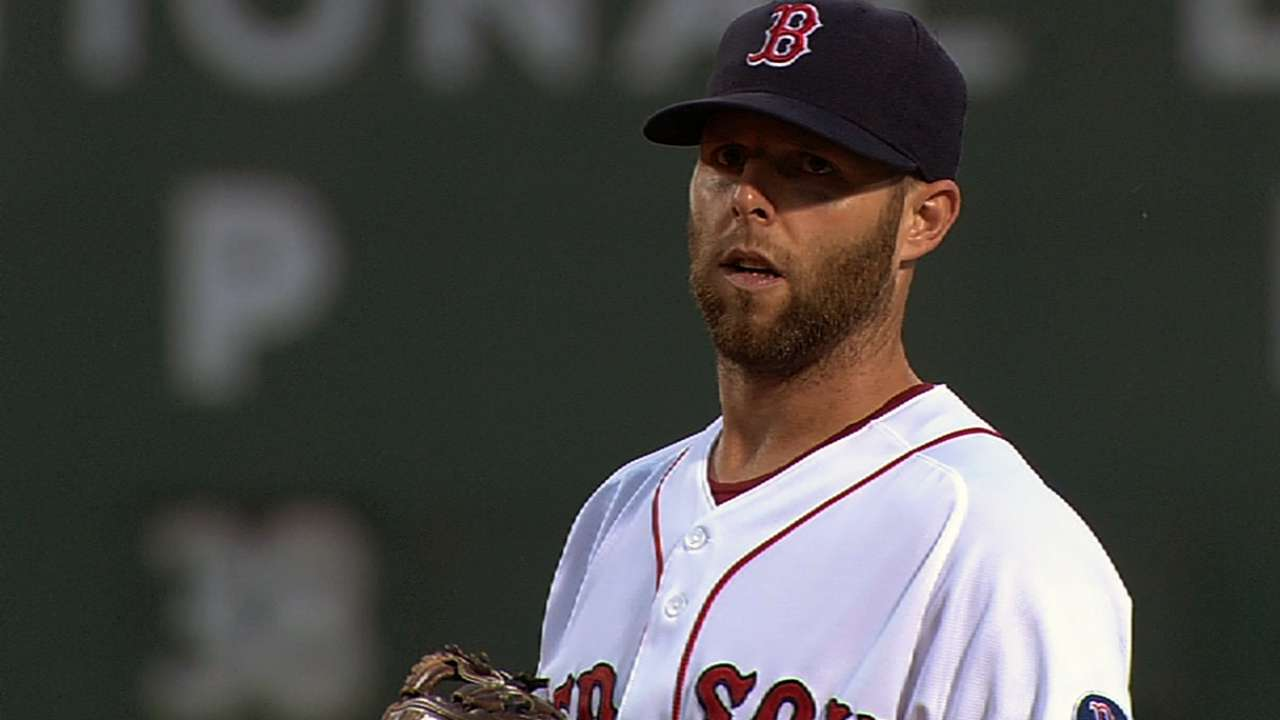 Red Sox content to follow last season's template